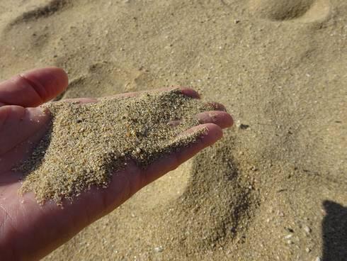しまなみビーチ 砂