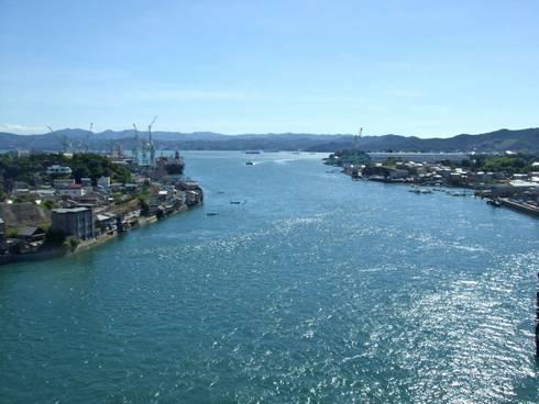 尾道大橋と新尾道大橋 尾道大橋からの眺め01
