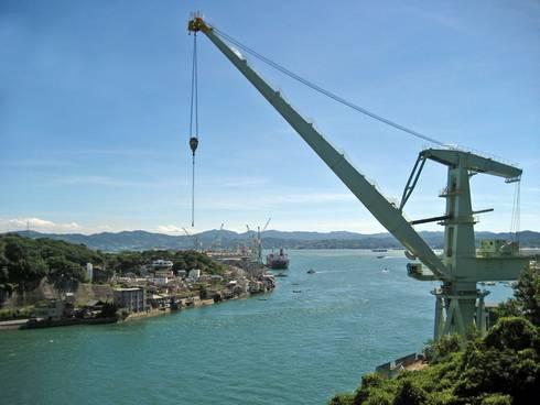 尾道大橋と新尾道大橋 尾道大橋からの眺め02