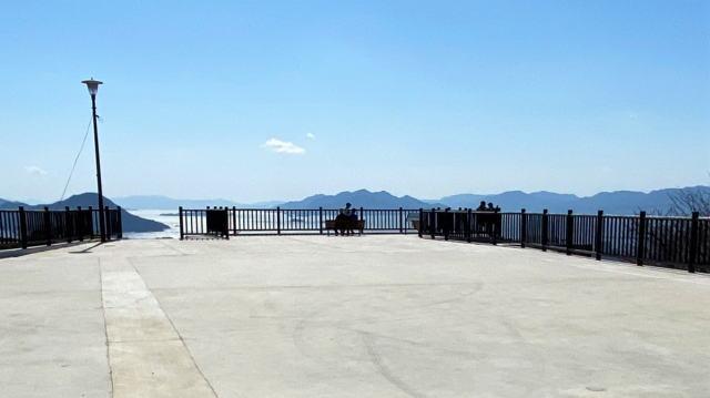 新しくなった 黄金山の山頂北展望ゾーン 写真3