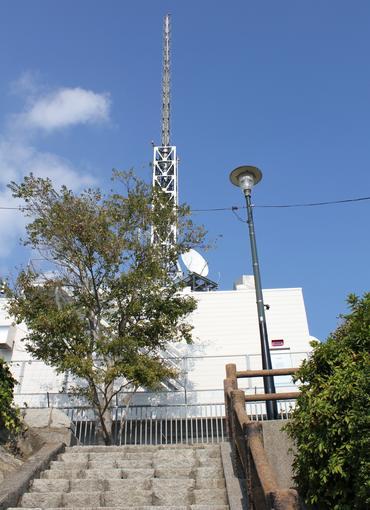 テレビの電波塔(広島親局送信所)