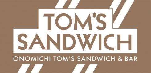 トムスサンドイッチ 尾道駅のロゴ