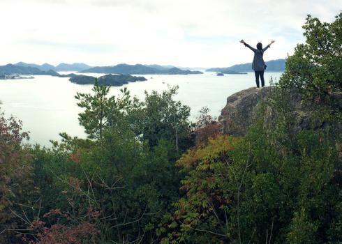 岩子島 ゆるぎ岩への道 画像8