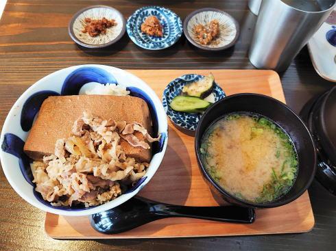 広島市 ますきち国泰寺店 肉豆腐めし