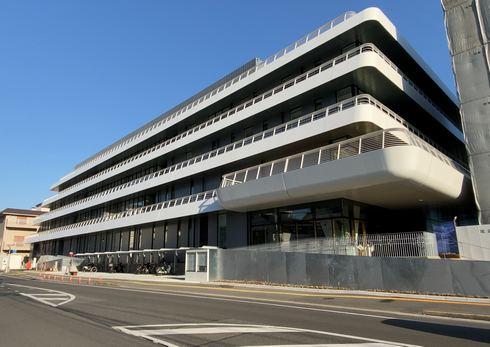 尾道市役所新庁舎の外観
