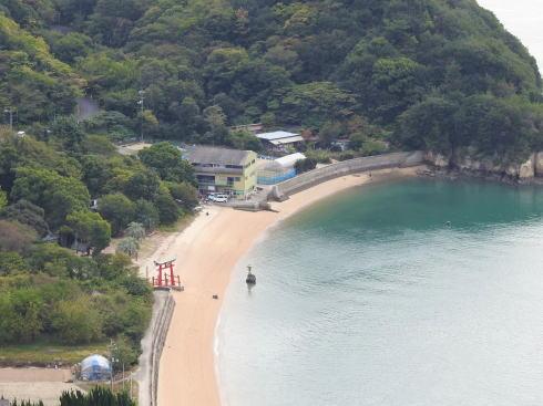 岩子島 ゆるぎ岩への道 画像12