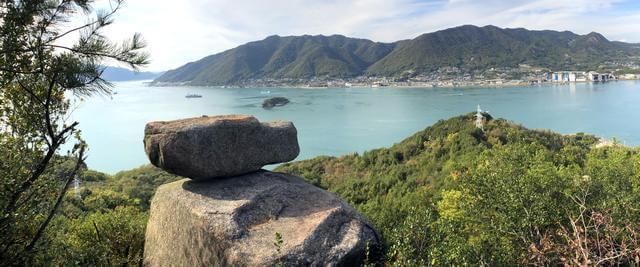 ゆるぎ岩(尾道市・岩子島)までの道のりは、危険がいっぱい