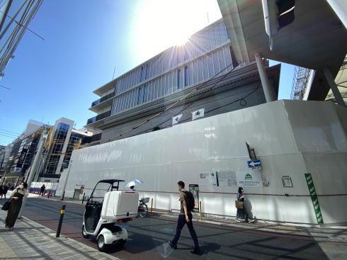 広島アンデルセン 建て替え中の様子(2020年5月)2