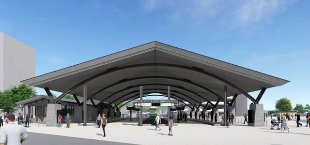 広電宮島口駅、ユニバーサルデザインで2022年に完成予定