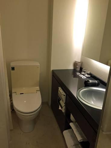 カンデオホテルズ福山 トイレ