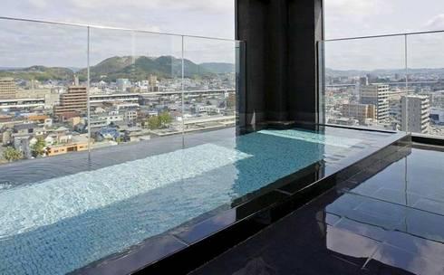カンデオホテルズ福山 大浴場(最上階)