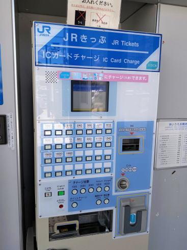 JR河戸帆待川駅 駅構内の様子