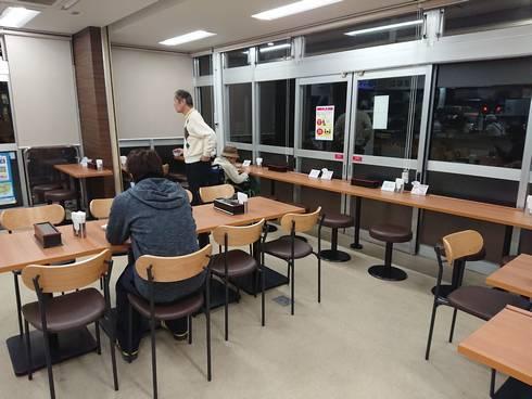 久地パーキングエリア(下り線)食堂