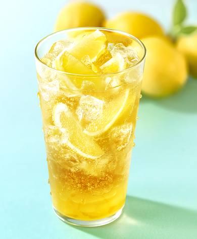 モスバーガーが広島限定で、まるごと!レモンのジンジャーエール
