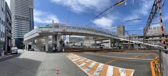 広島駅南口 ペデストリアンデッキの様子5
