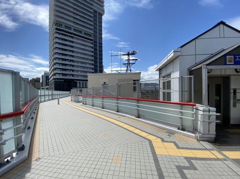 広島駅南口 ペデストリアンデッキの様子3