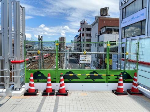 広島駅南口 ペデストリアンデッキの様子4