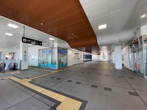 JR西条駅 自由通路