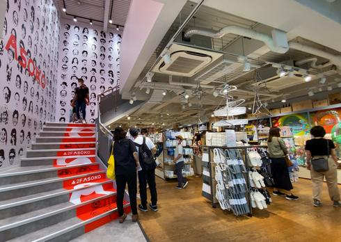 ASOKO+3COINS広島本通店、1Fにスリーコインズ