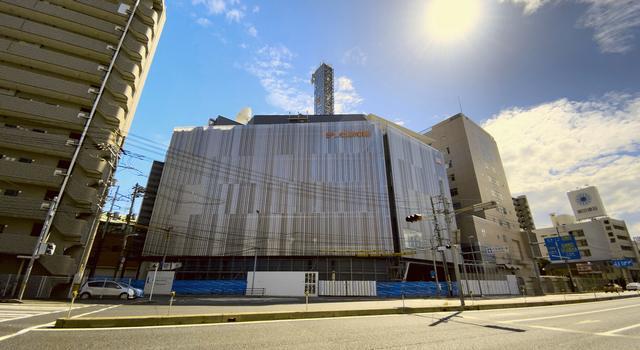 テレビ新広島 TSS新社屋の外観がほぼ完成
