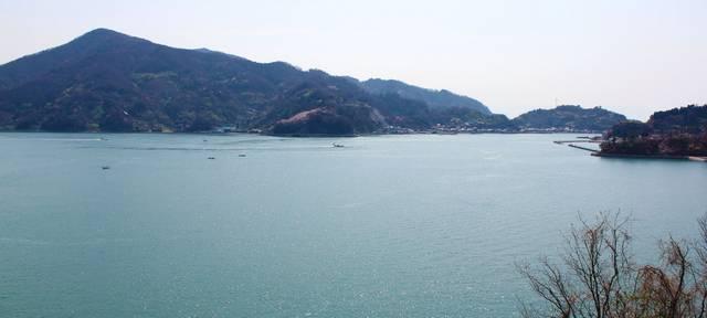 安芸灘大橋 橋からの眺め