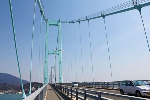 安芸灘大橋 橋に歩道