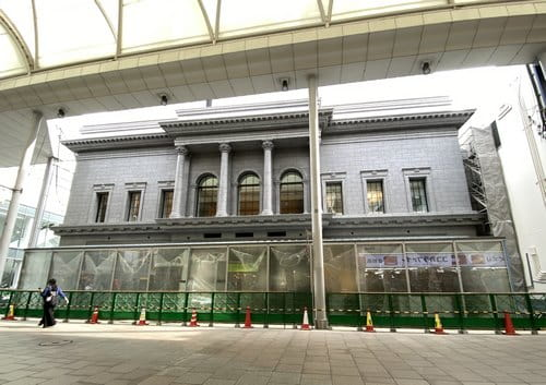 広島アンデルセンの建替え 外観ほぼ完成、2020年8月オープンへ