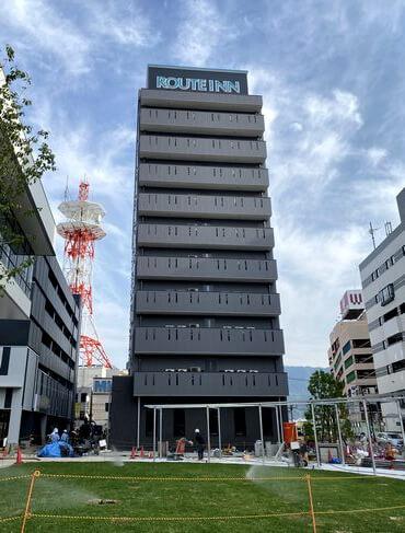 ホテルルートイン三原駅前 完成