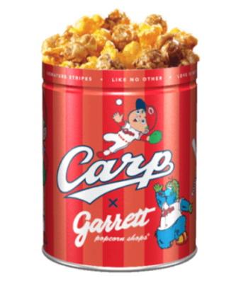ギャレットポップコーン カープコラボ缶 2020デザイン