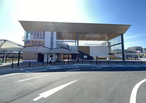 岩国駅 東口の様子