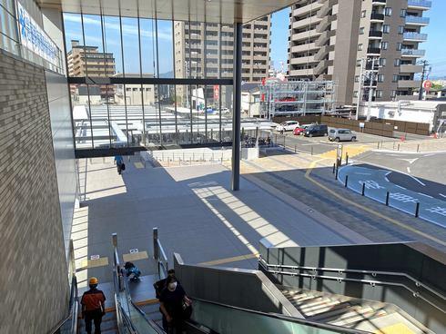 岩国駅 東口の駐輪場