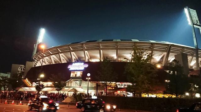 2020開幕ゲーム 広島vsDeNA戦をパブリックビューイング、マツダスタジアムで