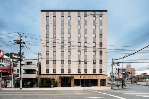 ネストホテル広島駅前 昼の外観の様子