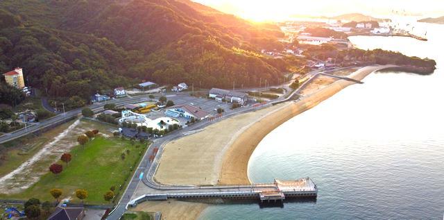 しまなみビーチ(因島・大浜海水浴場)