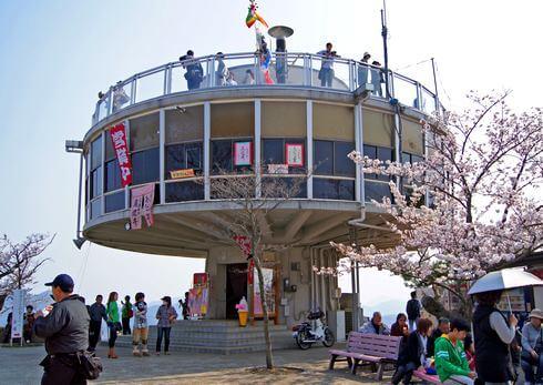 尾道「グリル展望」閉店していた、千光寺公園展望台のレストラン