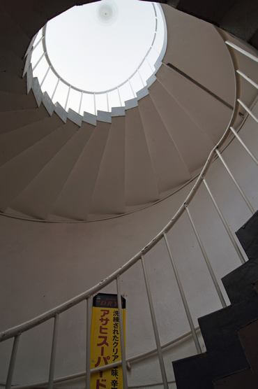 尾道・千光寺公園展望台の螺旋階段