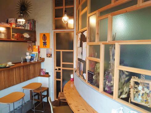 広島市中区白島 ユニオンコーヒー 店内の写真