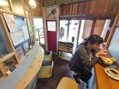 広島市中区白島 ユニオンコーヒー 店内の様子2