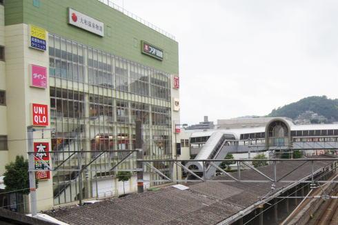 呉駅から見るレクレ