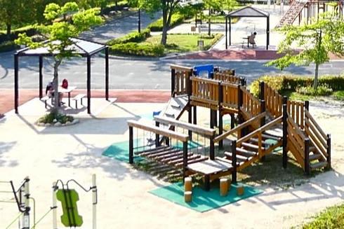 佐伯総合スポーツ公園、幼児の広場 遊具