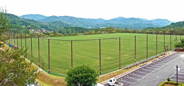 吉田サッカー公園 天然芝グラウンド01
