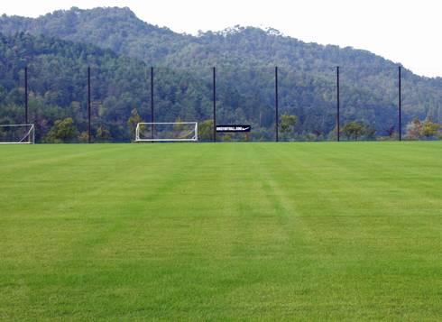 吉田サッカー公園 天然芝グラウンド02
