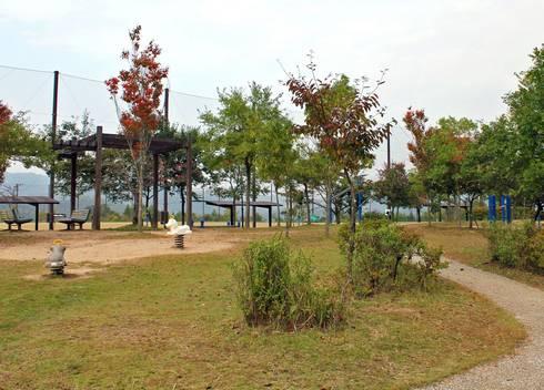 吉田サッカー公園 憩いのスペース