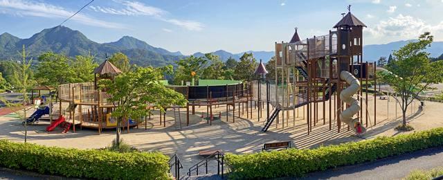 佐伯総合スポーツ公園の大型遊具が2020年3月末完成