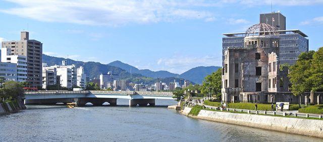 広島の原子爆弾の投下目標になった相生橋