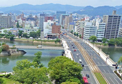 原子爆弾の投下目標になった相生橋