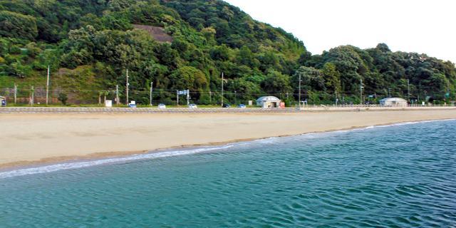 ベイサイドビーチ坂、海開き!