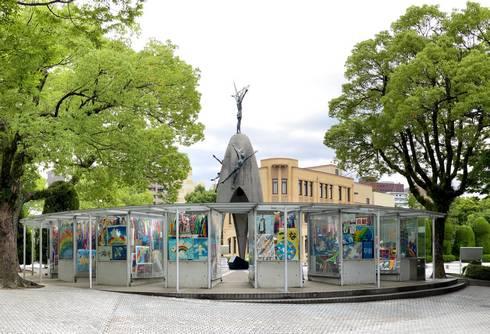 広島平和記念公園 原爆の子の像