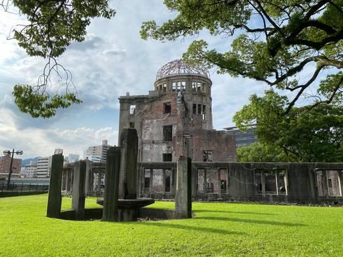 広島平和記念公園 原爆ドーム