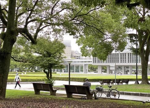 広島平和記念公園 ベンチ02